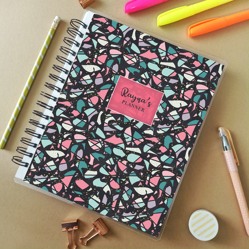 Personalised Planner (undated) - Terrazzo