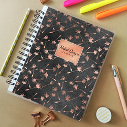 Personalised Planner (undated) - Poppy Fields