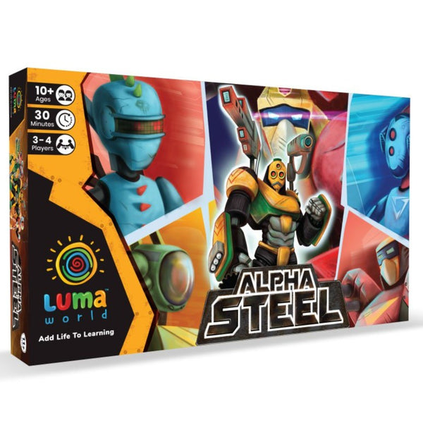 Alpha Steel: A Fantasy Board Game | Game & Toys | Age 10+ Years
