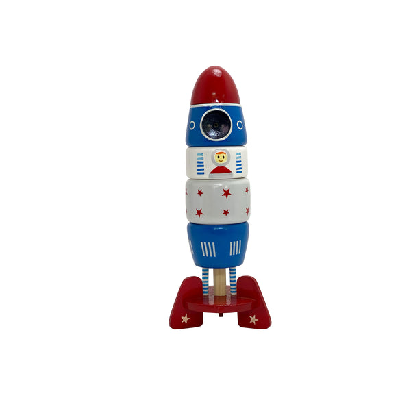 Astro Voyage Stacker Wooden Toys