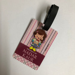 Bag Tags Doll - Personalised, Pack of 2