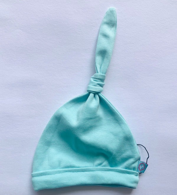 Baby Beanie Set - Aqua-Lilac | Baby Caps, Gloves & Mittens