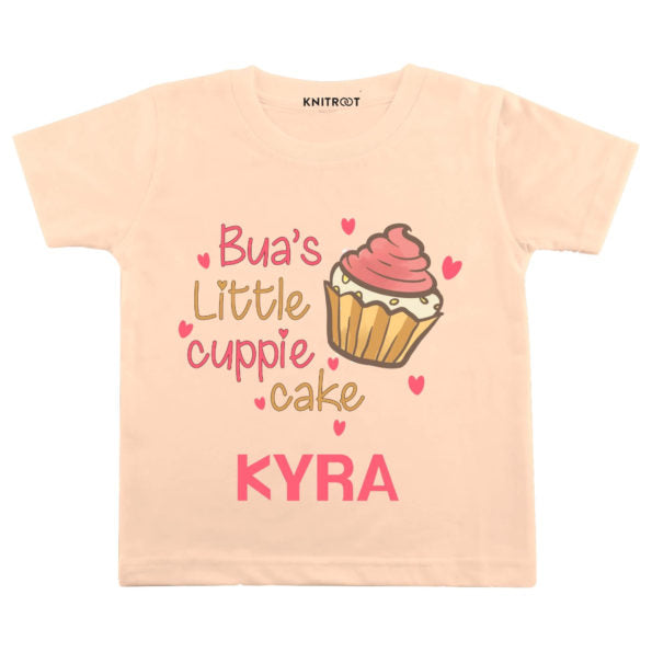 Bua's Little Cuppie Cake Baby Wear | Personalised Tshirt