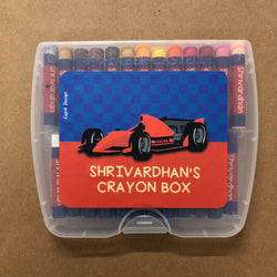 Crayon Box Personalised  - Ferrari