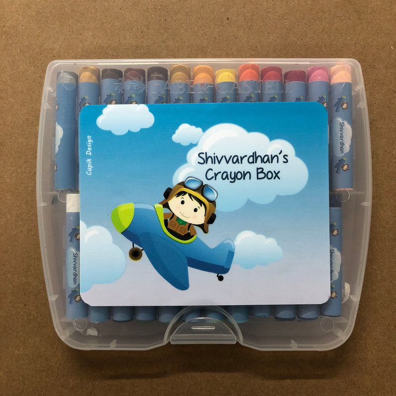 Crayon Box Personalised  - Pilot