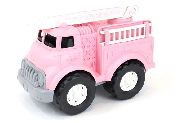 GREEN TOYS FIRE TRUCK - PINK-Toys-THE MUM SHOP