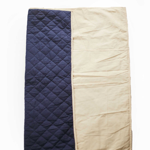 CuddlyCoo Quilted Cotton Play Mat - Blue | Play Mat