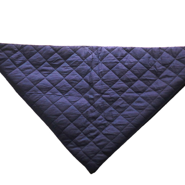 CuddlyCoo Quilted Cotton Play Mat - Blue- Play Mat