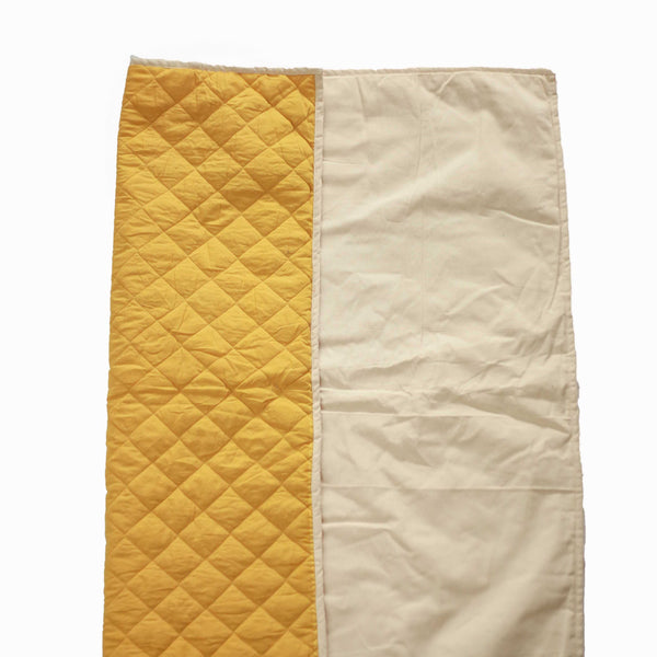 CuddlyCoo Quilted Cotton Play Mat - Mustard | Play Mat