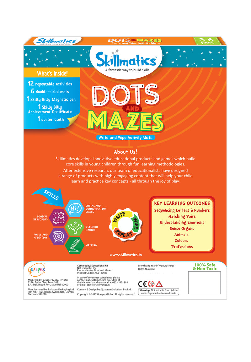 Dots and Mazes themumsshop