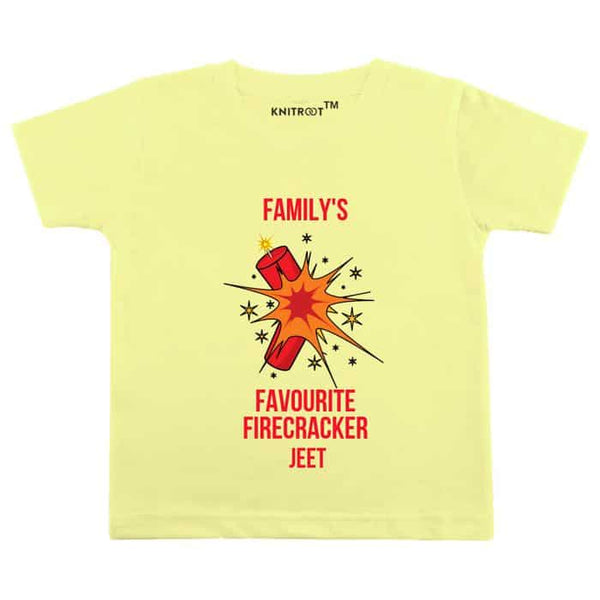Family's Favourite Firecracker | Personalised Tshirt
