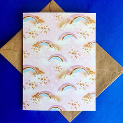 Greetings Cards - Rainbow (Pack of 8)