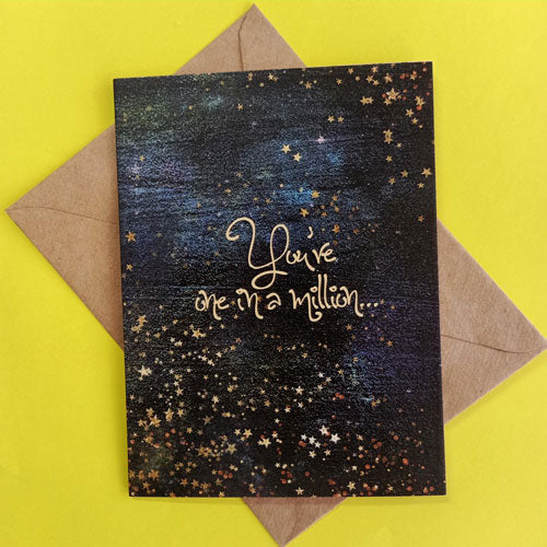 Greetings Cards - Stary Night (Pack of 8)