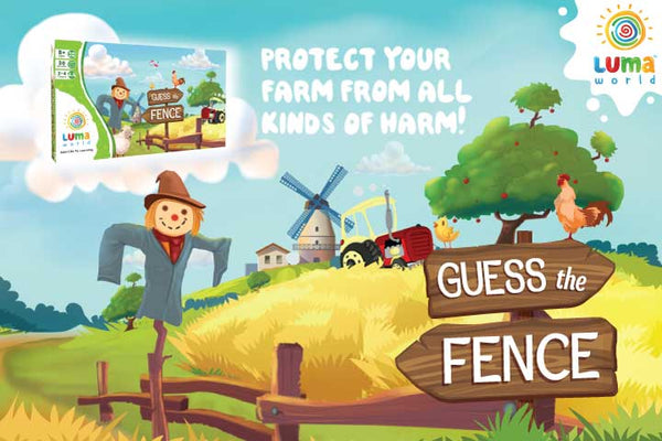 Guess The Fence: A Think & Write Board Game - Age 8+ Years