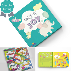 The 'BIG' Big Box of Joy | Children's Early Learning Book | 2-7 Years