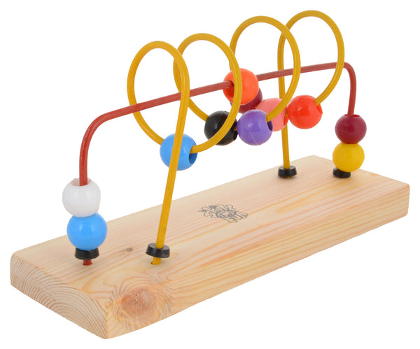 Bead Shuttle Spiral + Straight Line-Toys-THE MUM SHOP