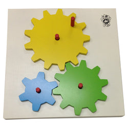 Basic Gears / Activity Board | Preschoolers