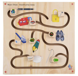 Maze Chase Classification Game-Toys-THE MUM SHOP