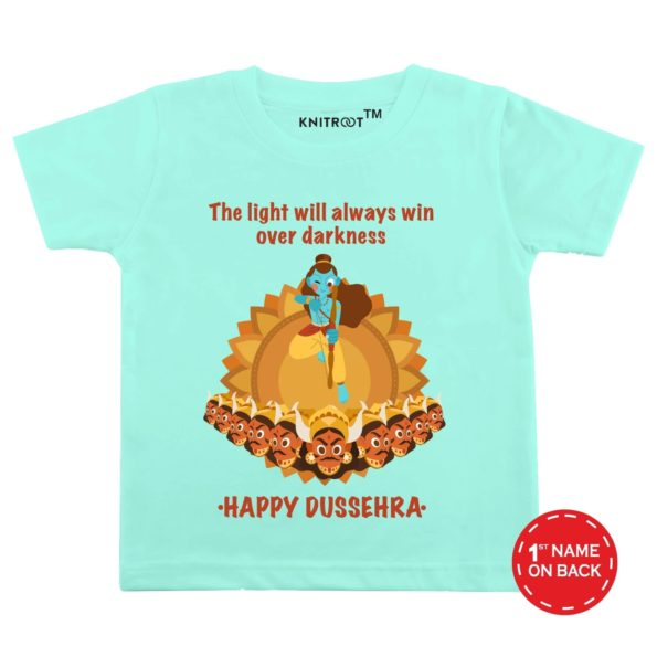 Happy Dussehra Light Theme 2 Baby Wear | Personalised Tshirt