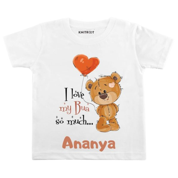 I love My BUA So Much… Outfit | Personalised Tshirt