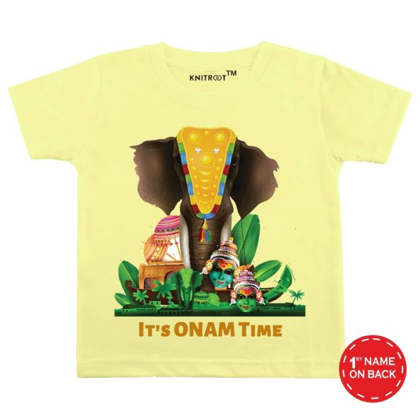 It's Onam Time Baby Wear | Personalised Tshirt