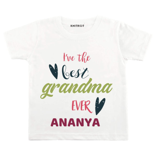 I've the Best Grandma Ever Baby Wear | Personalised Tshirt