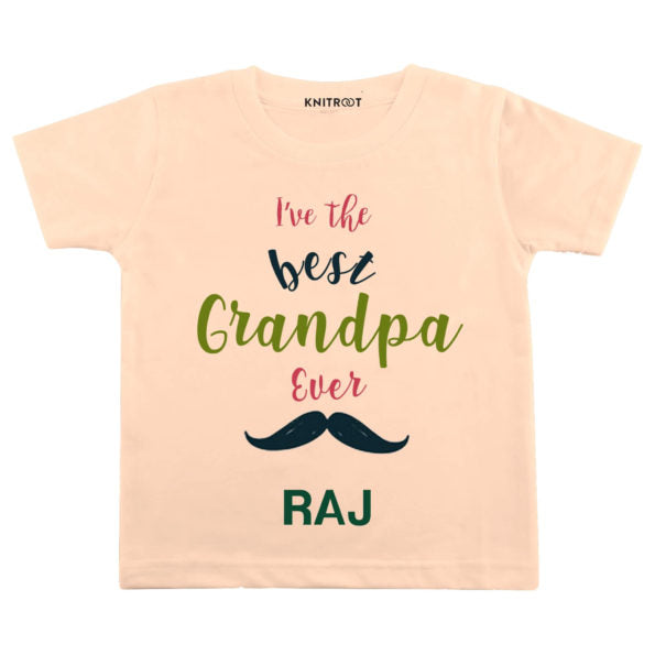 I've the Best Grandpa Ever Baby Wear | Personalised Tshirt