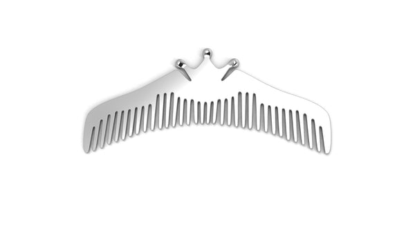 Sterling Silver Comb for Baby, Kids and Mom - Majestic