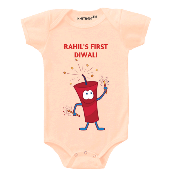 My First Diwali Personalized Onesie themumsshop