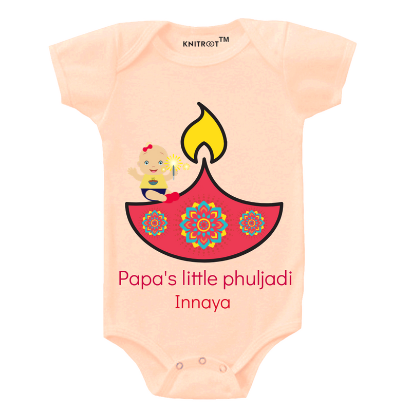 Papa Phuljadi Personalized Onesie themumsshop