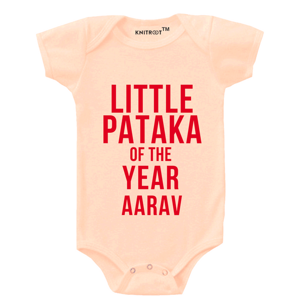 Little Pataka Personalized Onesie themumsshop