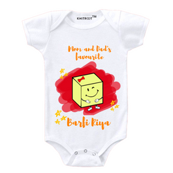 Cute Barfi Personalized Onesie themumsshop