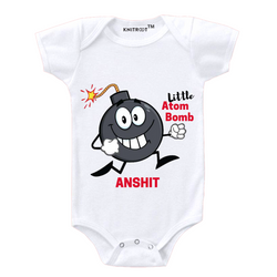 Little Atom Bomb Personalized Onesie themumsshop