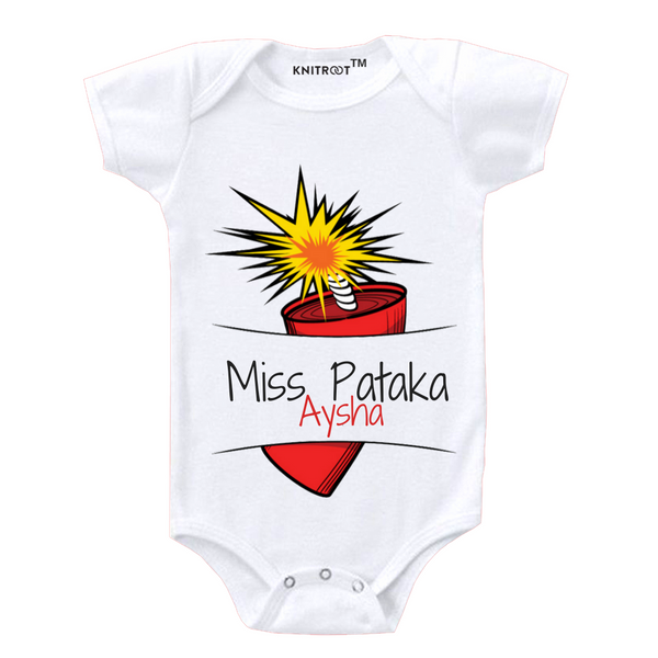 Miss Pataka Personalized Onesie themumsshop