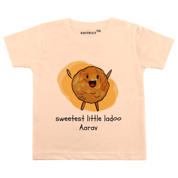 Sweetest Ladoo Personalized Tshirt themumsshop