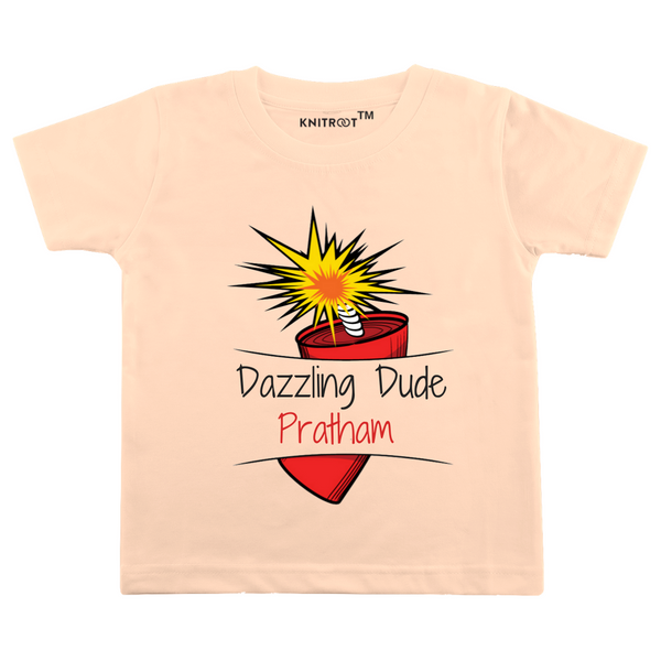 Dazzling Dude Personalized Tshirt themumsshop