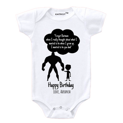 Happy Birthday Boy Personalized Onesie themumsshop