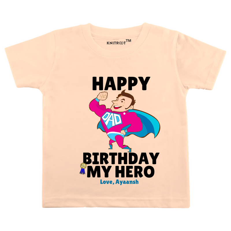 Happy Birthday Hero Tshirt themumsshop