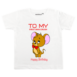 First Crush Personalized Tshirt themumsshop