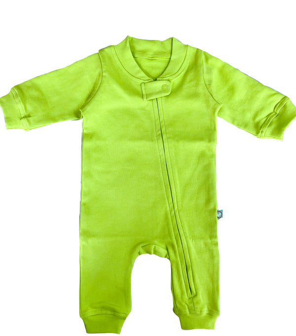 Zip Romper - Kiwi themumsshop