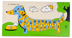 My Alphabet Dog Capital and Lower Alphabets-Toys-THE MUM SHOP