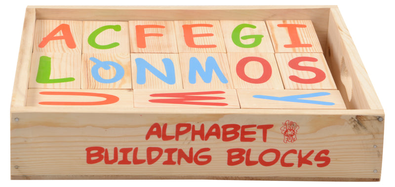 Alphabet Building Blocks (A-Z)-Toys-THE MUM SHOP