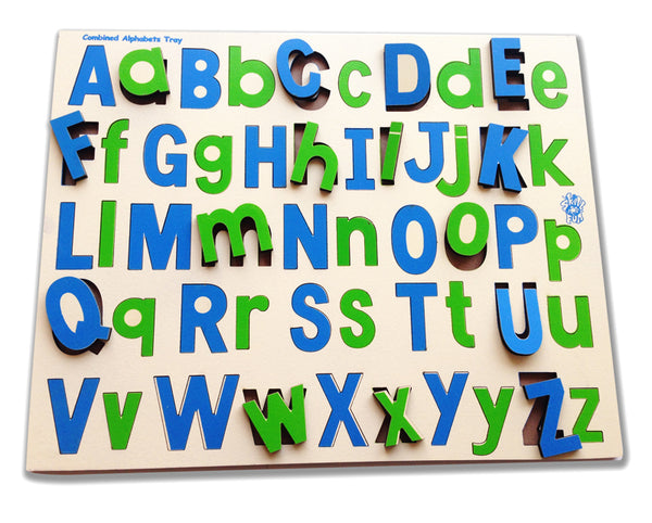 Combined Alphabet Tray-Toys-THE MUM SHOP