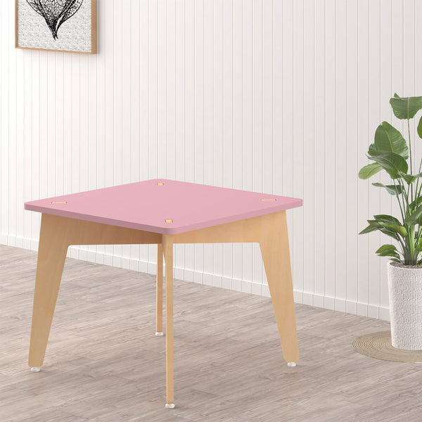 Kids Furniture Lime Fig Study & Play Table - Pink