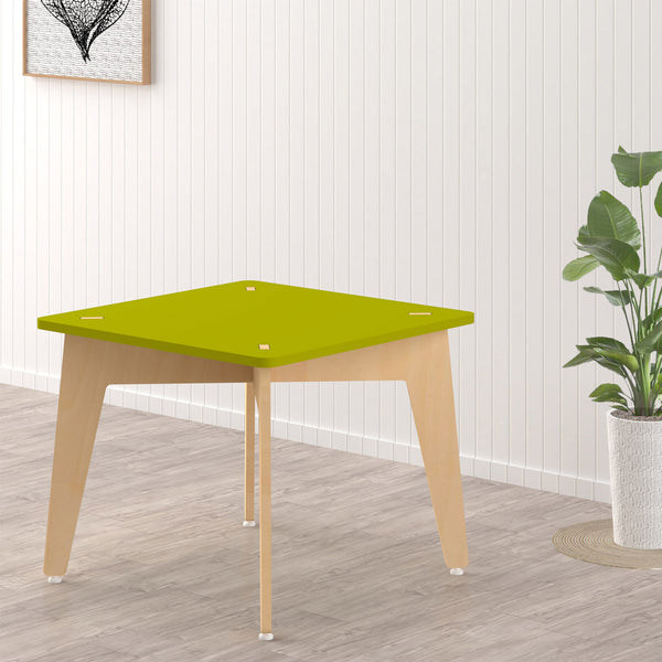 Kids Furniture Lime Fig Study & Play Table - Green