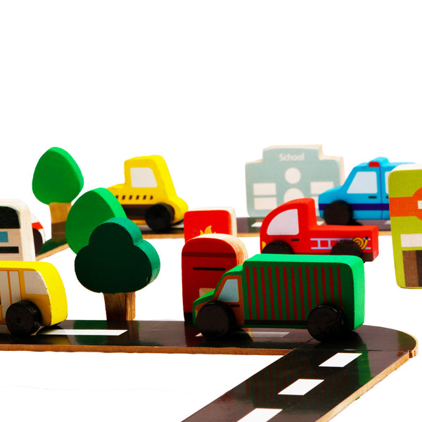Build a Community Town | Wooden Toys