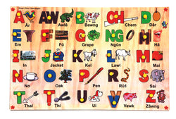 Mizo Capital Alphabet with Picture Tray-Toys-THE MUM SHOP