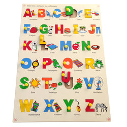 Italian Alphabet with Picture Tray-Toys-THE MUM SHOP