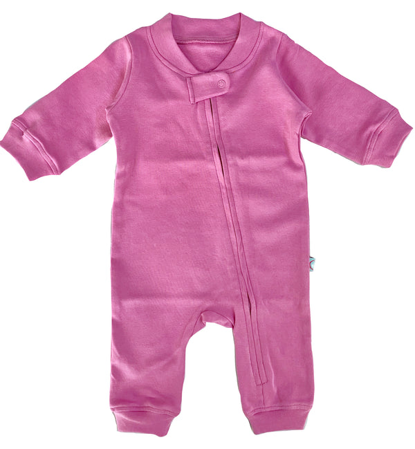 Zip Romper - Lilac themumsshop