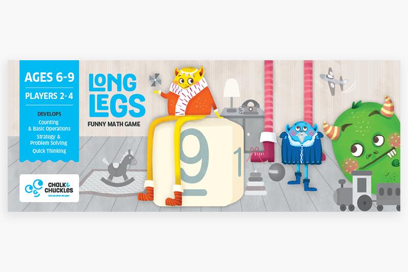 Long Legs | Educational & Learning | Age 6 Years+